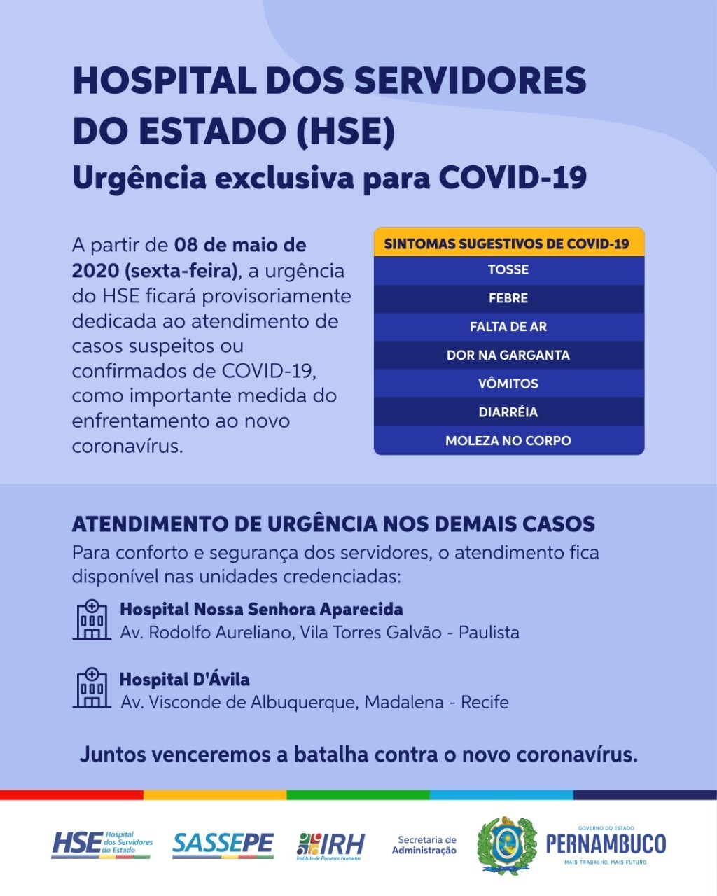 HSE - COVID19